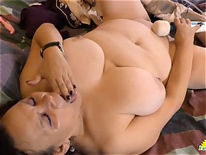 LatinChili red-hot busty grannie Solos Compilation