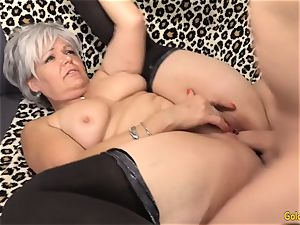 granny Kelly Leigh Is super-naughty for a manhood