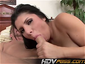 HDVPass Sativa Rose gets snatch smashed with a vengeance