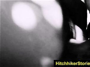 HelplessTeens Sophia Torres harsh sadism & masochism for a hitch