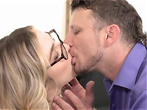 Specs appeal part 2 with super-naughty tiny Blair Williams