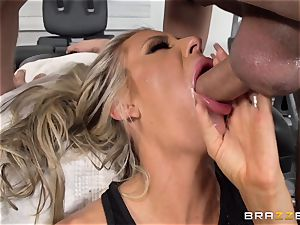 Courtney Taylor caressed and fucked