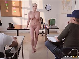 Christie Stevens bent over and plumbed doggie