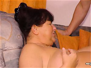 HausfrauFicken - unexperienced penetrate with round German wife