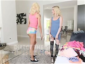 small Blondes get smashed stiff - Piper Perri, Elsa Jean