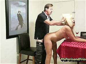 screwing the Boss's wife with Ms Paris Rose