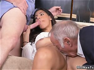 horny elderly milf and dude gets bj first time Going South Of The Border