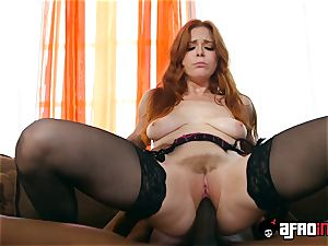audition ALLA ITALIANA red-haired poked by a black man-meat