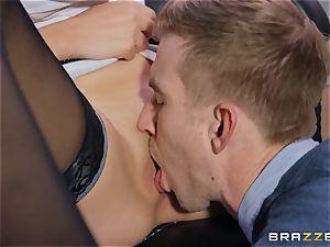 Amina Danger getting penetrated by a huge schlong