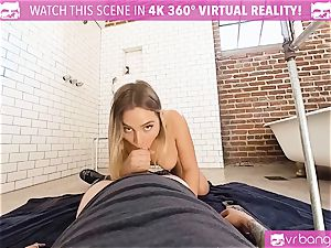 VR porn - Blair Getting humped rigid by the Plumber