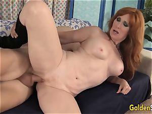 Mature redhead Freya Fantasia Is screwed