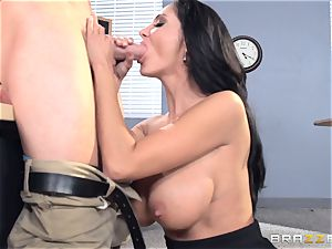 huge-titted professor Ava Addams is pounded by her schoolgirl