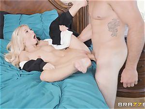 Kenzie Reeves takes a meaty dick balls deep