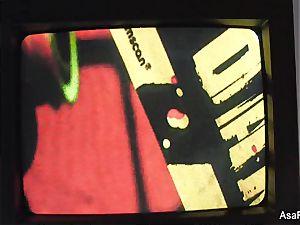 Asa Akira Zombie anal internal ejaculation