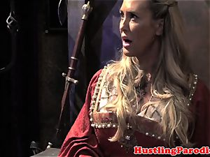 Brandi love making varys deepthroat his blast