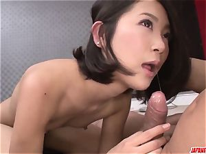 Kyoka Sono gets elderly boy - More at Japanesemamas.com